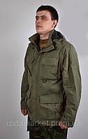 Зеленная куртка с капюшоном фирмы JEEP