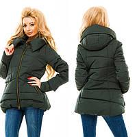Куртка женская на холлофайбере зимняя P5389