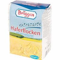 Овсяные хлопья Bruggen Haferflocken цельные, 500 г (Германия)