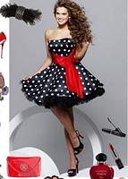 Женское Платье в горох, +  пышная юбка (подъбник)., фото 2