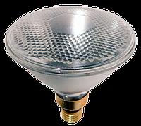 Инфракрасная лампа для обогрева свиней и птиц PAR38, 175 Вт, Е27 (прозрачная), фото 1