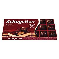 Шоколад черный Schogetten Tiramisu, 100 г (Германия)