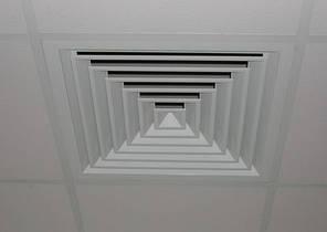 Диффузор потолочный ДП 260 Х 260 мм. (Металлический), фото 2