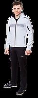 Спортивный костюм мужской белый с черным, спортивные костюмы интернет-магазин