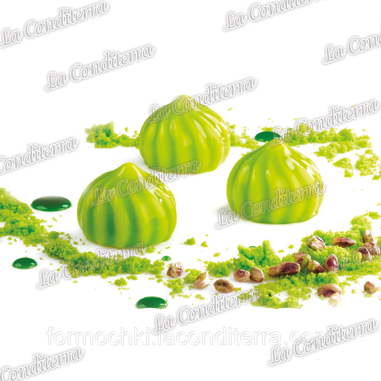 Силиконовая форма для десертов Pavoni PX4308