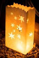 Светящиеся не горящие пакеты, звезды