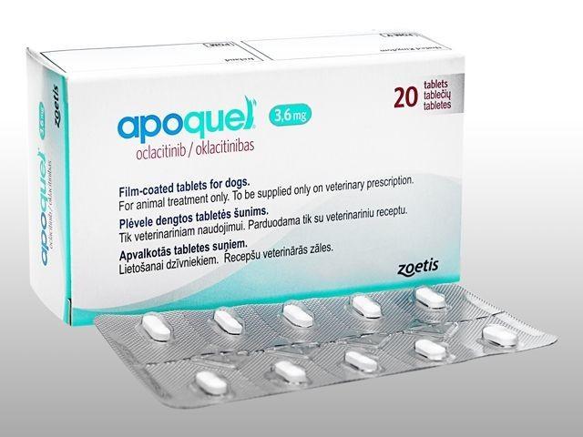 Апоквель Apoquel 3,6 мг 10 таб.