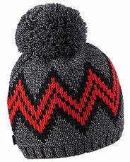 Теплая вязанная молодежная шапочка унисекс от Loman Польша, фото 2