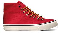 Кеды мужские Vans Sk8-High California (red) - 44z