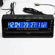 Термометр внутренний, наружный, часы, подсветка VST 7010V (VST-7010V)