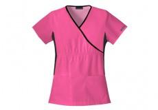 Женская медицинская футболка с резинкой  Flexibles , ТМ Cherokee