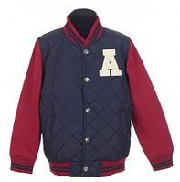 Подростковая спортивная куртка р.134 (арт.6506 син.)