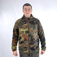 Флисовая камуфляжная кофта Бундесвер (нем. Bundeswehr)