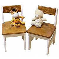 Детский стульчик Эскимо из сосны
