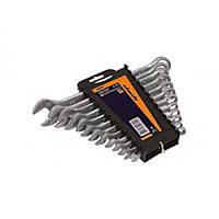 Miol 51-710 Набор ключей рожково-накидных CRV  пластик (6-22)  12 предметов