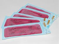 Нить хирургическая рассасывающаяся PGA RAPID 0 USP 75 см, обратно-режущая прямая игла 60 мм