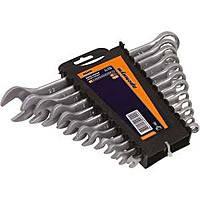 Miol 51-700 Набор ключей рожково-накидных CRV  пластик (8-17)  6 предметов