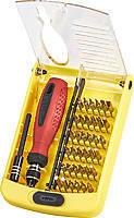 Miol 66-030 Отвертка с набором прецизионных бит и головок, 45 предметов