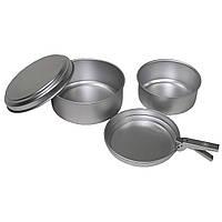 """Набор посуды походный из 6 предметов, алюминий """"Cayenne"""", """"Markill"""""""