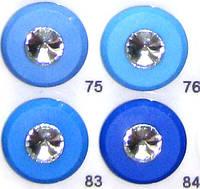 Пуговицы швейная фурнитура с кристаллом 23 мм