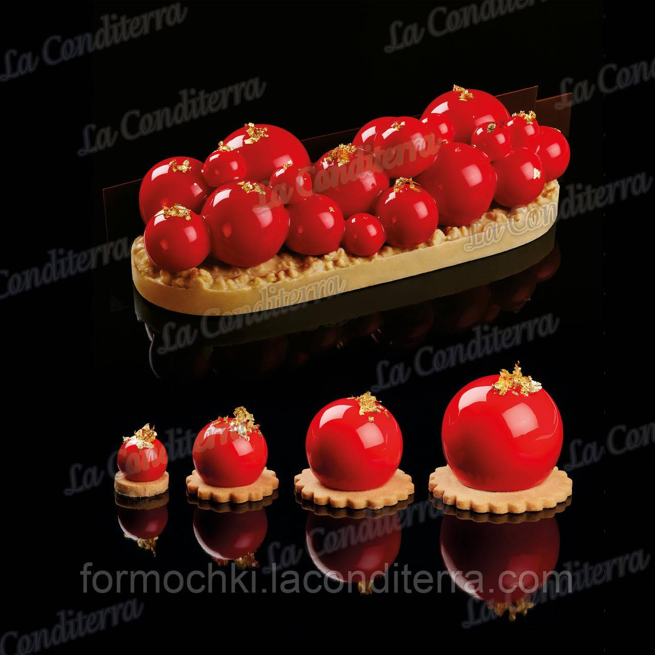 Силиконовая форма для десертов Pavoni Le Sfere