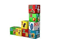 Кубики Алфавит развивающая логическая игрушка украинский язык