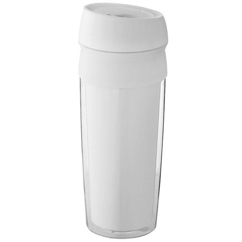 Термочашка пластиковая 'Cebu', 470мл, цвет Белый