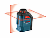 Нивелир лазерный Bosch GLL 2-20 + BM 3 + кейс, фото 4