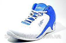 Баскетбольные кроссовки Voit, бело-синие, фото 2