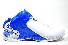 Баскетбольные кроссовки Voit, бело-синие, фото 3