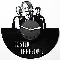 Часы виниловые Foster the people