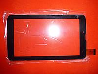 """Тачскрин FX-706-02 KDX 30pin 7"""" (закругленный) сенсор черный для планшета"""