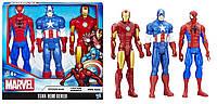 Набор фигурок Marvel Avengers Titan Hero Series 3 Heroes.