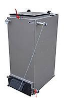 Универсальный твердотопливный котел нижнего горения Bizon FS 10 отапливаемая площадь от 30 до 100 кв.м.