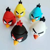 Флеш накопитель 8GB, USB 2.0 Angry Birds, конус, флешка-сюрприз