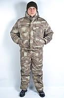 Костюм камуфляжный утепленный - зима A - Tacs AU