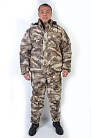 Теплый зимний камуфляжный костюм A-tacs AU