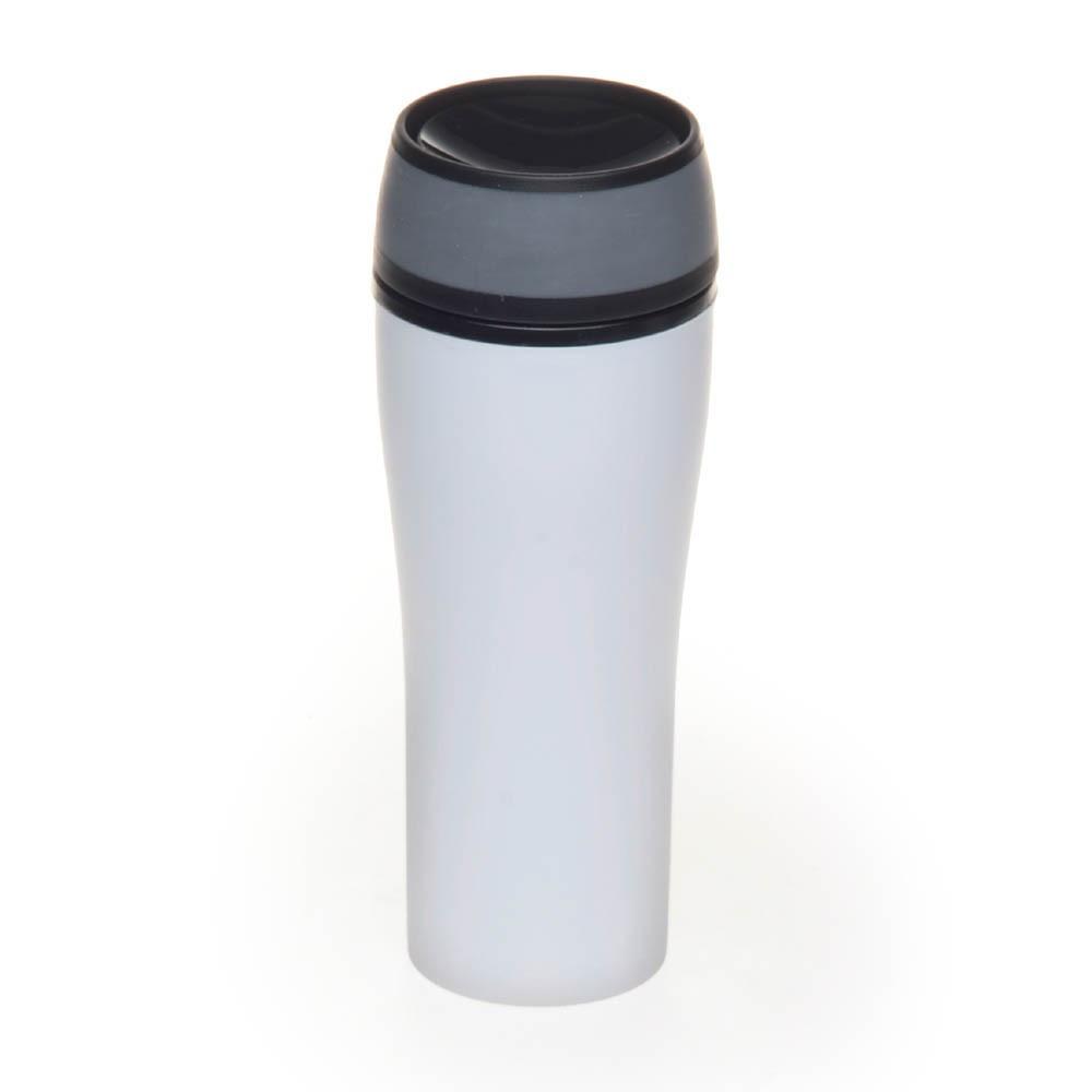 Термочашка пластиковая 400мл, цвет Белый