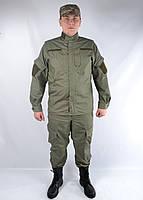 Однотонный военный костюм нового образца - Код ГП-К-002