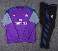 Детский тренировочный костюм Adidas FC Real Madrid 2016-17