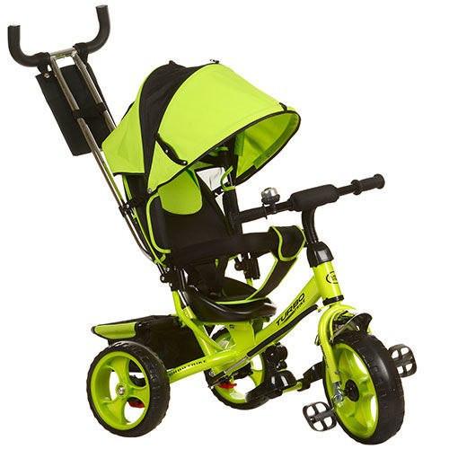 Трехколесный детский велосипед Turbo trike 3113-4 (колеса пена)