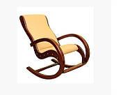 Кресло качалка для дома из натурального дерева