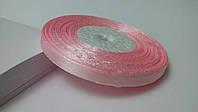 Лента атласная 0,6 см №1 розовая (32 метра)