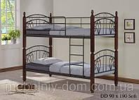 Кровать двухъярусная железная Софи ДД (DD Sofi)