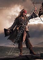 Картина 40х60 см Пираты Карибского моря Мачта