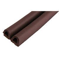 Уплотнители для окон и дверей TRELLEBORG D профиль коричневый 100м