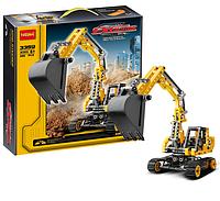 Детский конструктор Decool 3359, аналог Lego Technic, Экскаватор 286 дет
