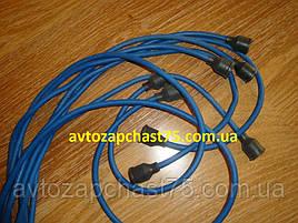 Провода зажигания Зил 130 силикон синий, 9 штук ( ЧП Струм, Украина)