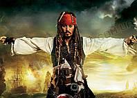 Картина 60х40 см Пираты Карибского моря Джек