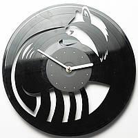 Часы виниловые Енот